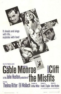 The Misfits, un film de John Huston, amb Marilyn Monroe, Clark Gable i Montgomery Clift